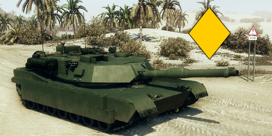 ОБТ M1A1 Abrams