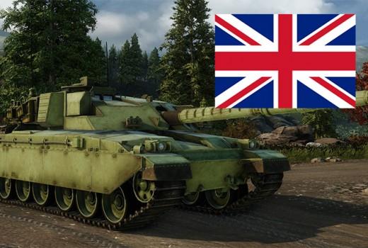 Armored Warfare Танки Великобритании